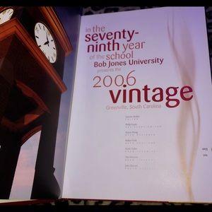 Other - College Yearbook Bob Jones University Vintage 2006